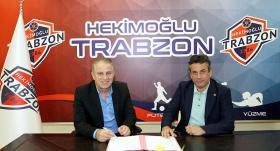 Hekimoğlu Trabzon Bahaddin Güneş'le anlaştı