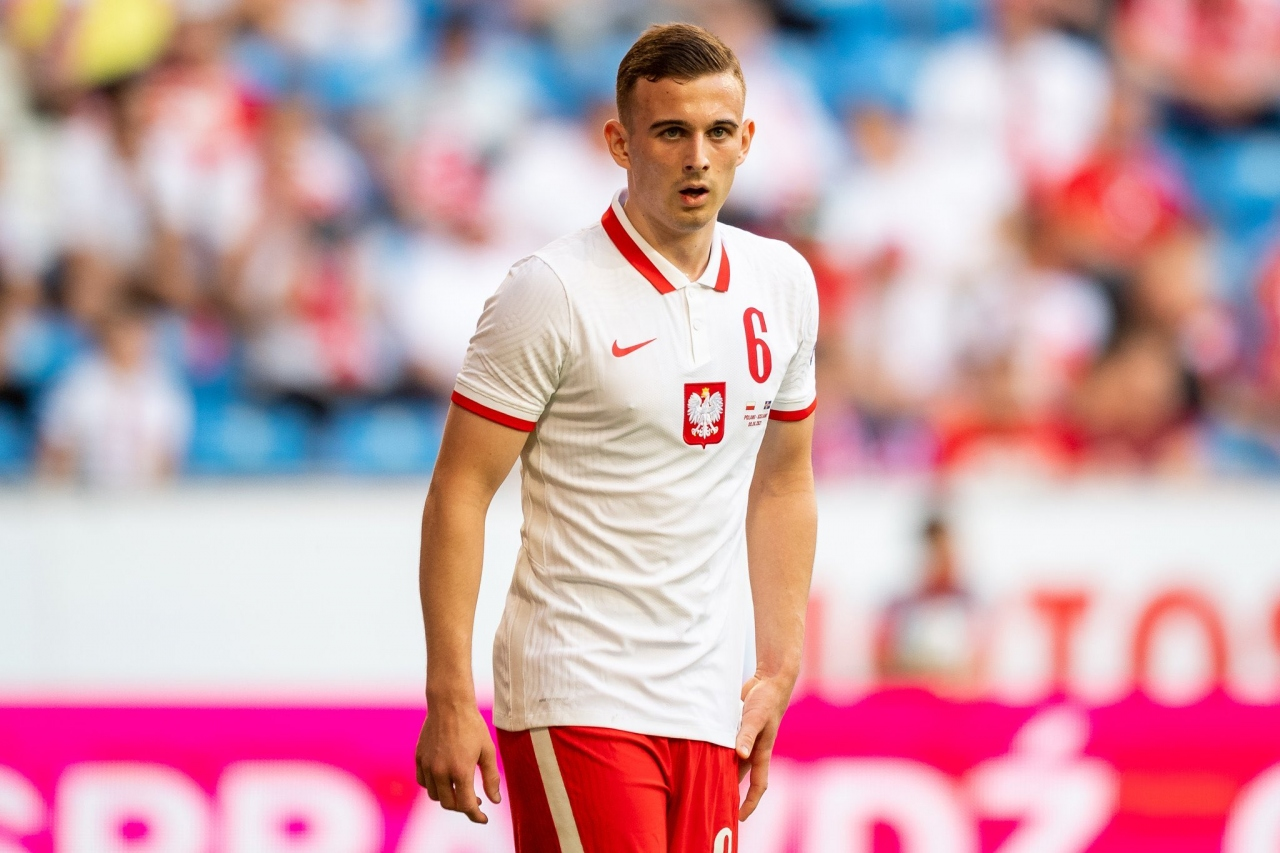 Forma giyen en genç futbolcu | Kacper Kozlowski