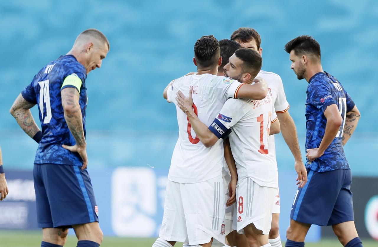 En farklı galibiyet | İspanya 5 -  0 Slovakya