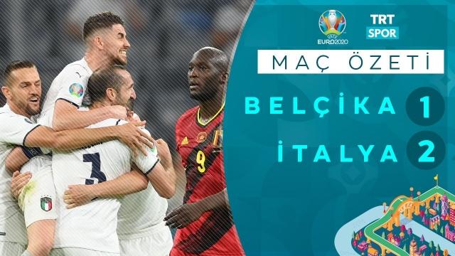 EURO 2020 | İtalya - Belçika (Özet)