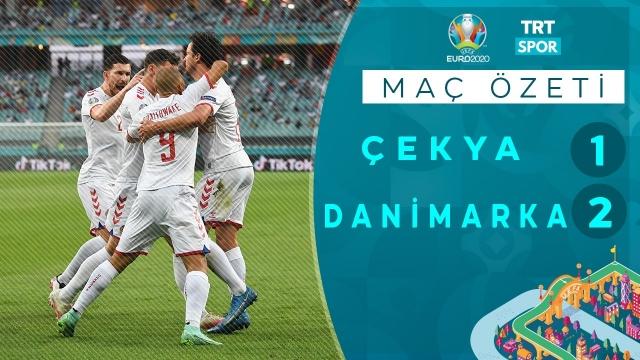 EURO 2020 | Çekya - Danimarka (Özet)