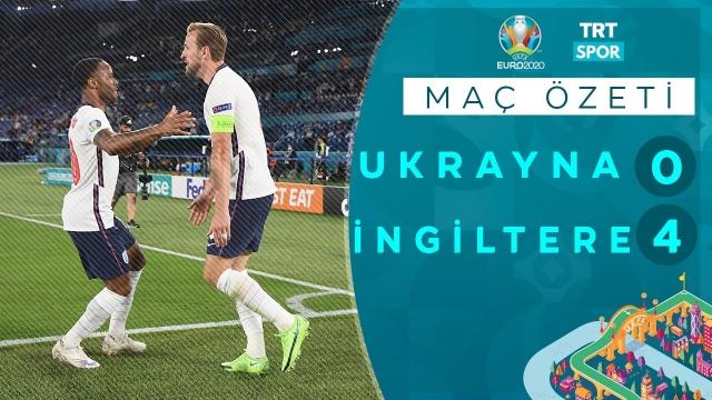 EURO 2020 | Ukrayna - İngiltere (Özet)