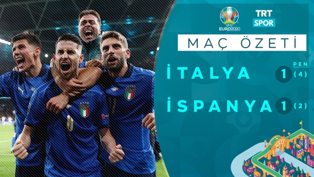 EURO 2020 | İtalya - İspanya (Özet)