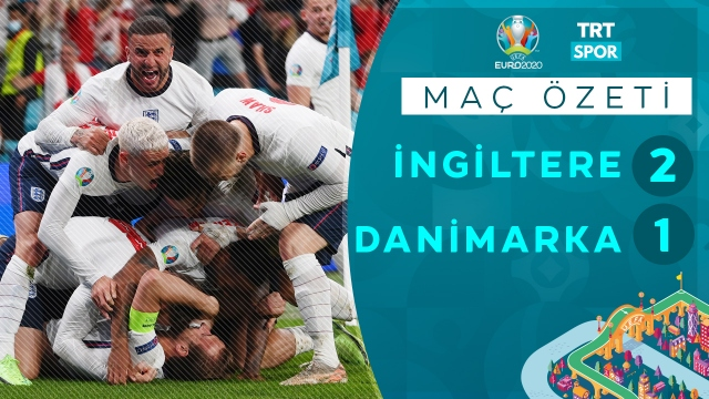 EURO 2020 | İngiltere - Danimarka (Özet)