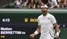 Wimbledon'da tek erkeklerde ilk finalist Berrettini