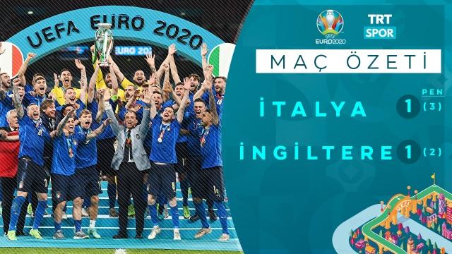 EURO 2020 Final | İtalya-İngiltere (Özet)