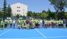 Demirci Akıncıları Tenis Turnuvası başladı
