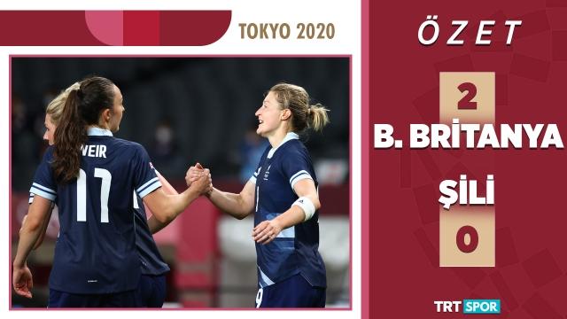 Tokyo 2020 Olimpiyatları | Büyük Britanya - Şili (Özet)