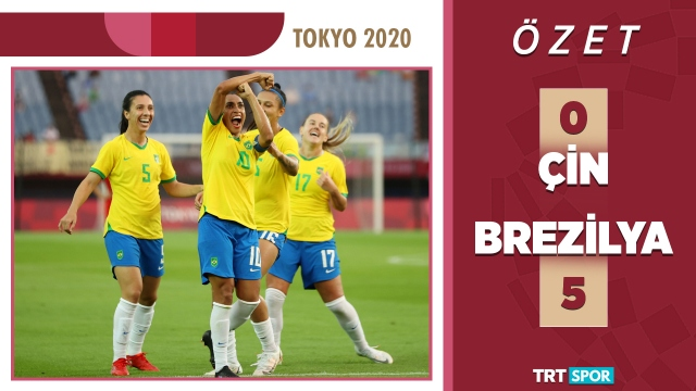 Tokyo 2020 Olimpiyatları | Çin - Brezilya (Özet)