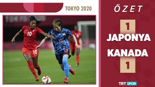 Tokyo 2020 Olimpiyatları | Japonya - Kanada (Özet)