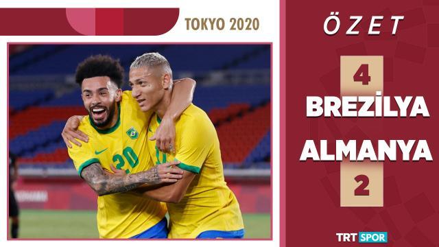 Tokyo 2020 Olimpiyatları | Brezilya - Almanya (Özet)