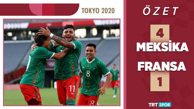 Tokyo 2020 Olimpiyatları | Meksika - Fransa (Özet)