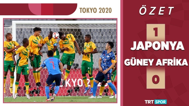 Tokyo 2020 Olimpiyatları | Japonya - G.Afrika (Özet)