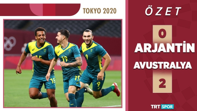 Tokyo 2020 Olimpiyatları | Arjantin - Avustralya (Özet)