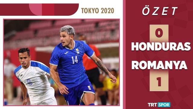 Tokyo 2020 Olimpiyatları | Honduras - Romanya (Özet)