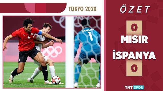 Tokyo 2020 Olimpiyatları | Mısır - İspanya (Özet)