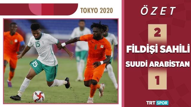 Tokyo 2020 Olimpiyatları | Fildişi Sahili - S. Arabistan (Özet)