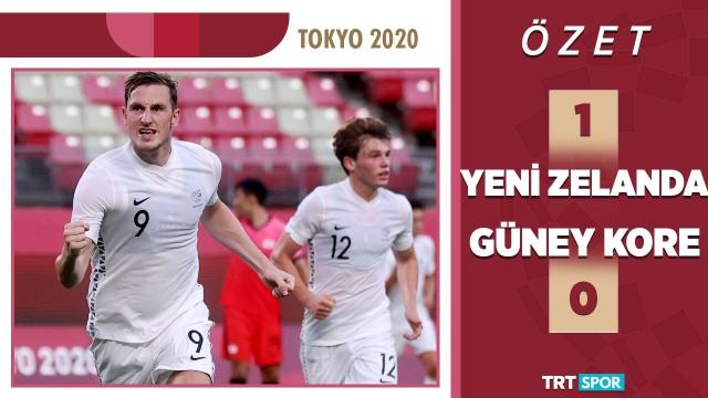 Tokyo 2020 Olimpiyatları | Yeni Zelanda - G. Kore (Özet)