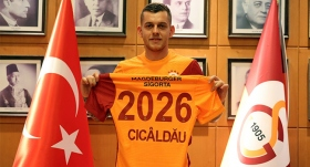 Galatasaray Alexandru Cicaldau'yu resmen açıkladı