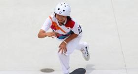 Kaykayda ilk altın madalyanın sahibi Japonya