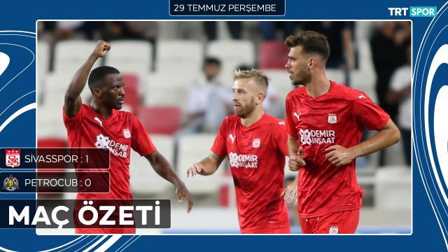 Konferans Ligi | Sivasspor - Petrocub (Özet)