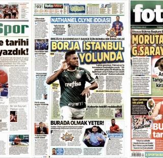 """Borja İstanbul yolunda"""
