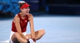 Teniste tek kadınlar şampiyonu Bencic