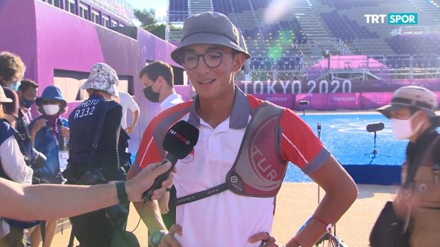 Olimpiyat şampiyonu Mete Gazoz TRT SPOR'a konuştu