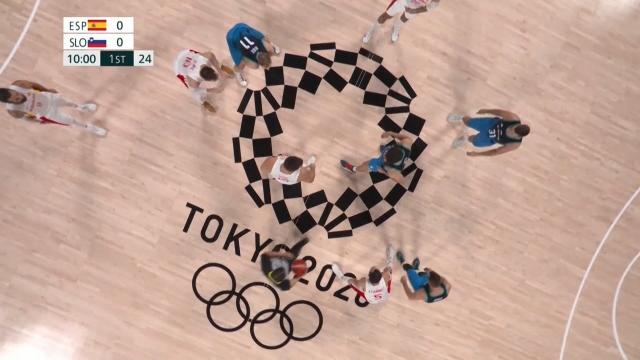 Tokyo 2020 Olimpiyatları | Slovenya - İspanya (Özet)