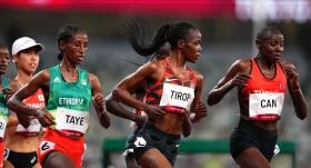 Yasemin Can 5000 metre finalinde 8'inci oldu