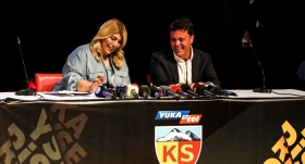 Kayserispor'da isim sponsorluğu anlaşması