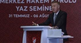 Ahmet Ağaoğlu: Biz futbolda adalet ve hakkaniyet istiyoruz