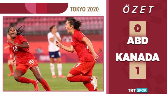 Tokyo 2020 Olimpiyatları | ABD - Kanada |  Kadınlar Futbol - Yarı Final (Özet)