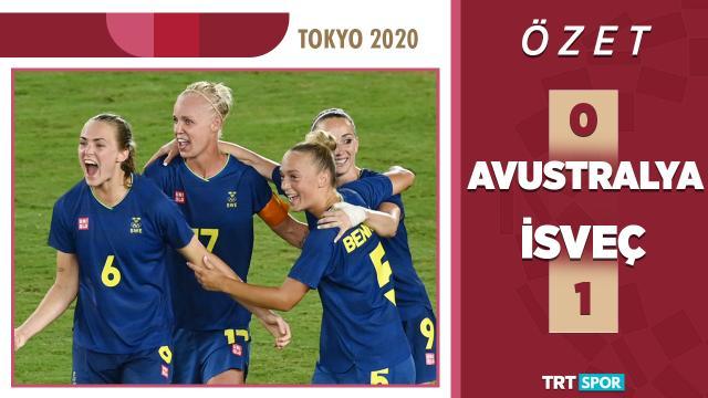 Tokyo 2020 Olimpiyatları | Avustralya - İsveç | Kadınlar Futbol - Yarı Final (Özet)