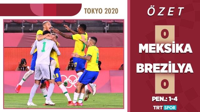 Tokyo 2020 Olimpiyatları | Meksika - Brezilya (Özet)