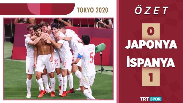 Tokyo 2020 Olimpiyatları | Japonya - İspanya (Özet)