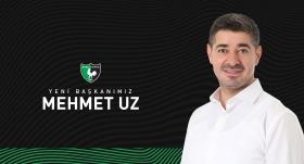 Denizlispor Kulübünün yeni başkanı Mehmet Uz oldu