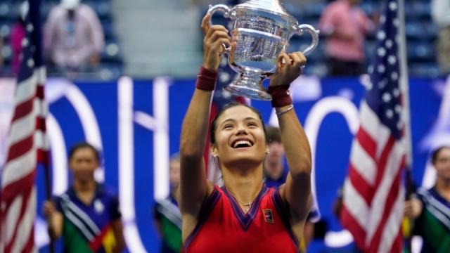 Tenisin yeni yıldızı: Emma Raducanu
