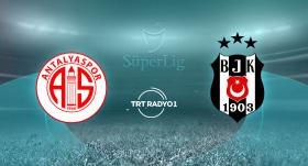 Beşiktaş, Antalyaspor'a konuk olacak