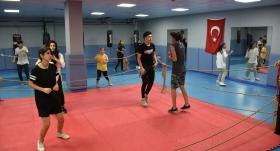 Olimpiyat şampiyonları Trabzonlu gençlere örnek oldu