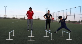Antrenör çift geleceğin şampiyonlarını yetiştiriyor