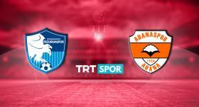 BB Erzurumspor - Adanaspor maçı TRT SPOR'da
