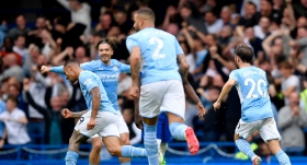 Dev maçın galibi Manchester City
