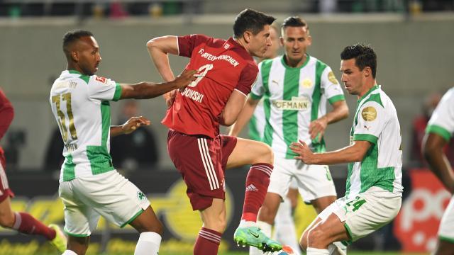 Bundesliga 6.Hafta | Greuther Fürth - Bayern Münih (Özet)