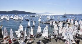 Optimist Türkiye Şampiyonası başladı