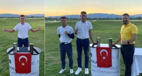 Genç golfçü Yılmaz Batan, Romanya'da ikinci oldu
