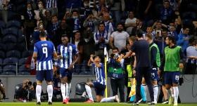 Porto, Milan'ı tek golle yıktı