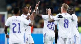 Real Madrid Ukrayna'da şov yaptı