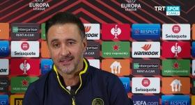 Vitor Pereira: Reaksiyon göstermeliyiz