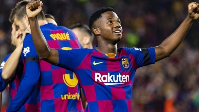 Barcelona Ansu Fati'nin sözleşmesini yeniledi
